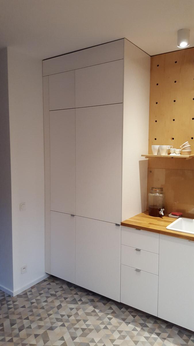 Kuchnia MDF / sklejka lakier półmat 26 - Meble na wymiar i ...